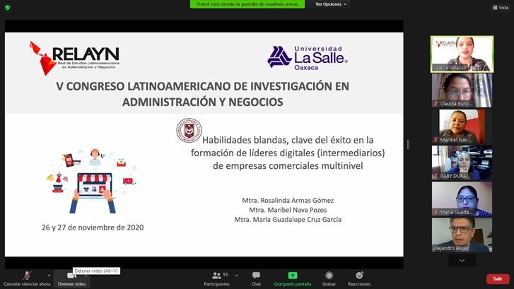 CUERPO ACADÉMICO DE CONTADURÍA PARTICIPA EN EL 5º. CONGRESO LATINOAMERICANO DE INVESTIGACIÓN EN ADMINISTRACIÓN Y NEGOCIOS